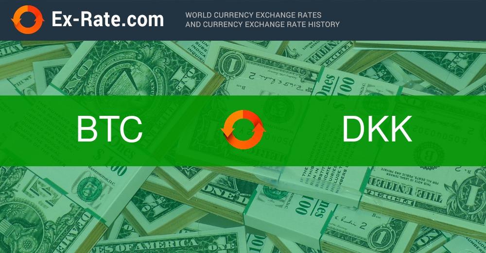 Tasso di cambio 100 Bitcoin a Corona danese
